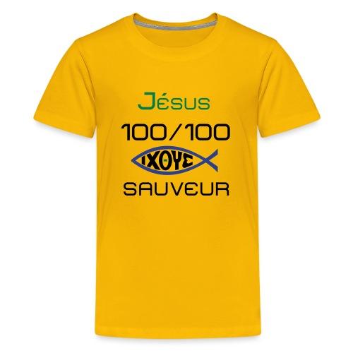 jesus100 - Kids' Premium T-Shirt