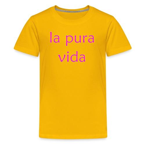 la pura vida - Kids' Premium T-Shirt