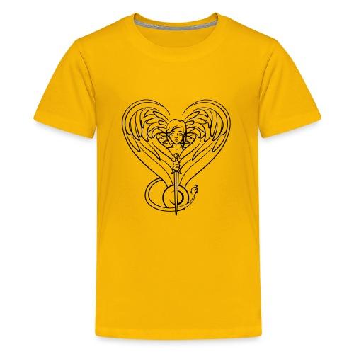 Sphinx valentine - Kids' Premium T-Shirt