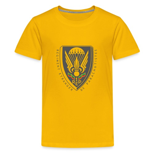 1er REP - Regiment - Badge - Dark - Kids' Premium T-Shirt