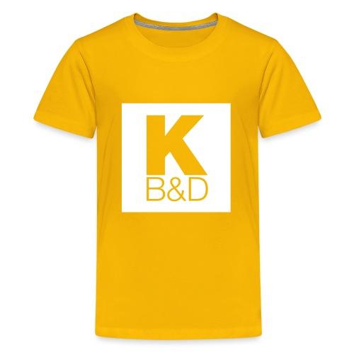 KBD_White - Kids' Premium T-Shirt