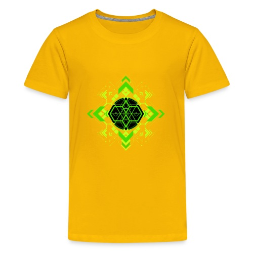 Design2_green - Kids' Premium T-Shirt