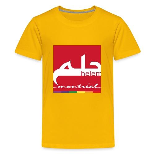Helem Montreal Logo - Kids' Premium T-Shirt