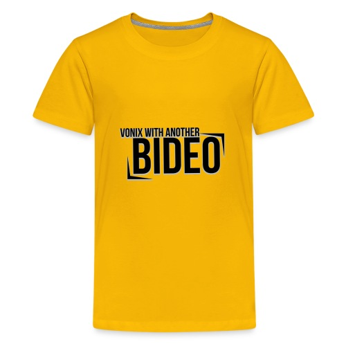 With Another Bideo - Kids' Premium T-Shirt