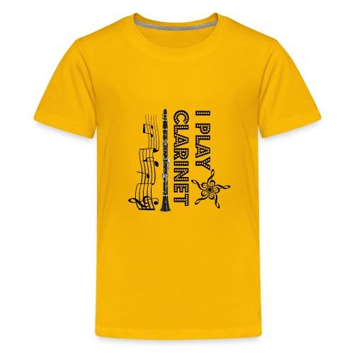 i play clarinet - Kids' Premium T-Shirt