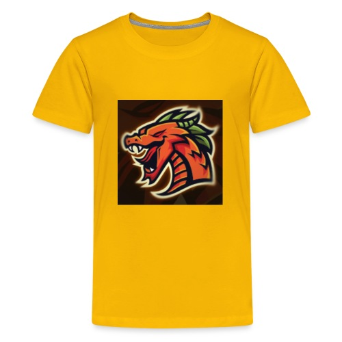 Crazy shooter logo - Kids' Premium T-Shirt