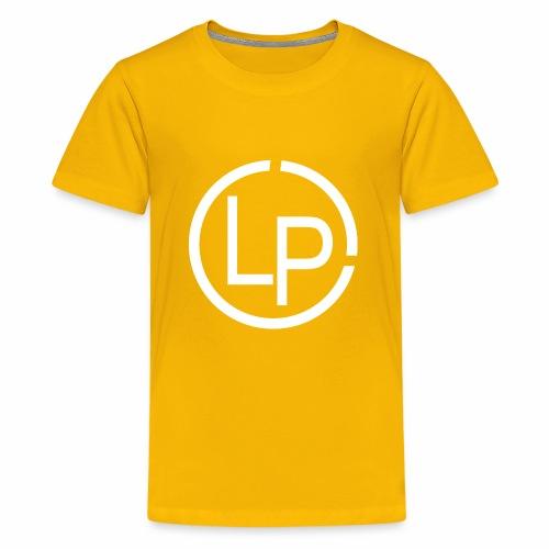 RoundWhite1 x1 - Kids' Premium T-Shirt