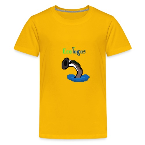 Pixel Sea Lamprey - Kids' Premium T-Shirt