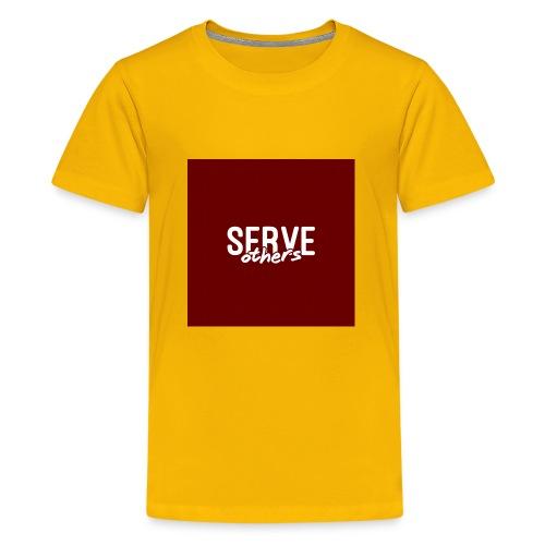 Serve Others Wallpaper - Kids' Premium T-Shirt