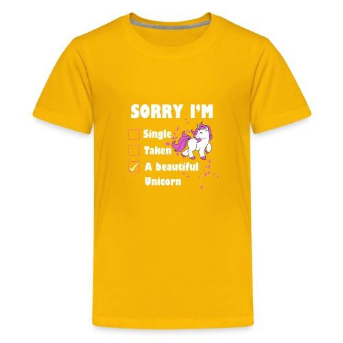 I M A BEAUTIFUL UNICORN - Kids' Premium T-Shirt