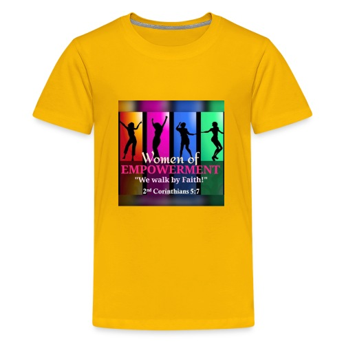 Woman Of Empowerment - Kids' Premium T-Shirt
