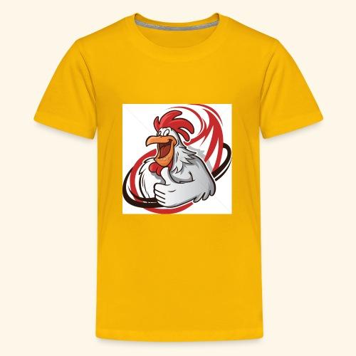 cartoon chicken with a thumbs up 1514989 - Kids' Premium T-Shirt
