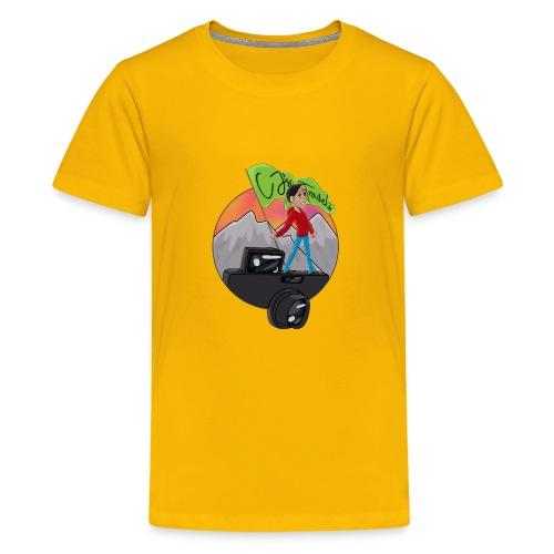 Cartoon CJ - Kids' Premium T-Shirt