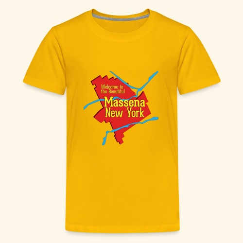 Massena NY Red - Kids' Premium T-Shirt