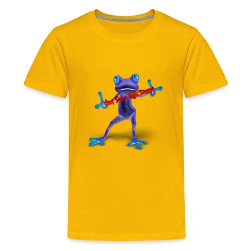 Logo - Nem Sei o Que Dizem - Podcast - Kids' Premium T-Shirt