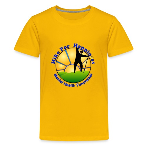 Hike Tops & Buttons - Kids' Premium T-Shirt