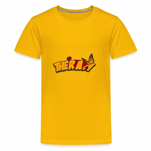 Theirhappy official logo full coloured - Kids' Premium T-Shirt
