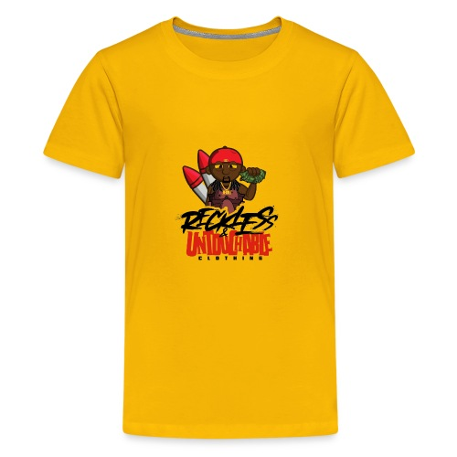 Reckless and Untouchable_1 - Kids' Premium T-Shirt
