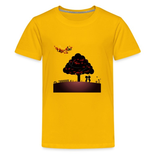 true love happy valentine's day - Kids' Premium T-Shirt