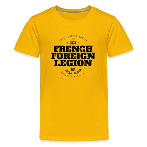 The French Foreign Legion - Black - Kids' Premium T-Shirt