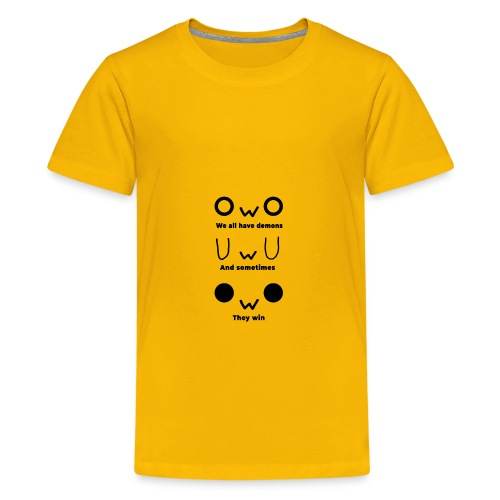 We All Have Demons - Kids' Premium T-Shirt