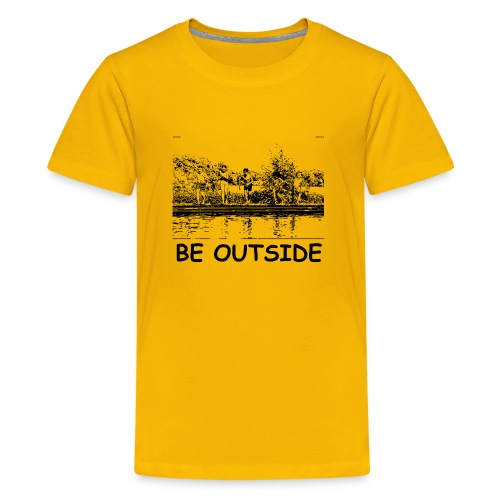 Be Outside - Kids' Premium T-Shirt