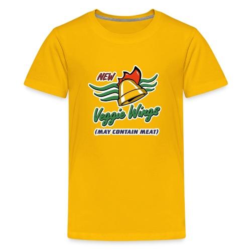 Cluckin' Bell Veggie Wings - Kids' Premium T-Shirt