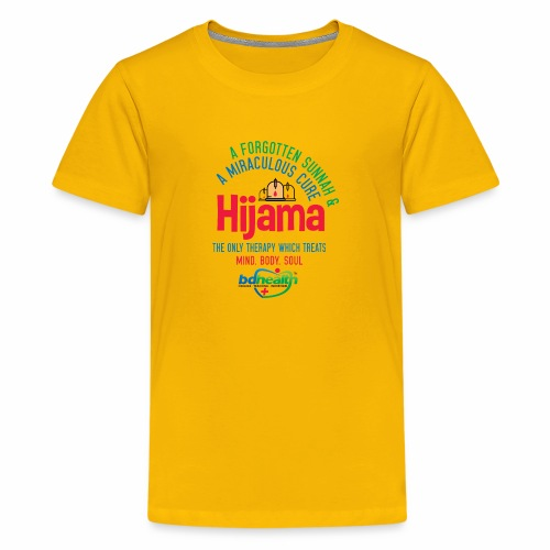 Hijama/Cupping/ Cupping therapy/ BD Health - Kids' Premium T-Shirt