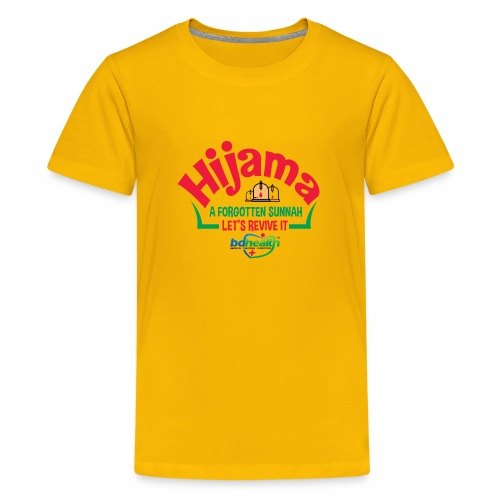 BD Health /Cupping/ Cupping therapy/ Hijama - Kids' Premium T-Shirt