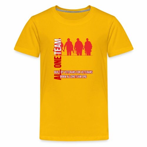 All One Team Sideways Design - Kids' Premium T-Shirt