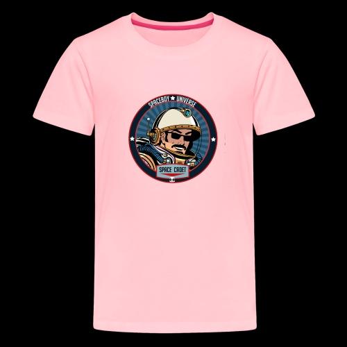 Spaceboy - Space Cadet Badge - Kids' Premium T-Shirt