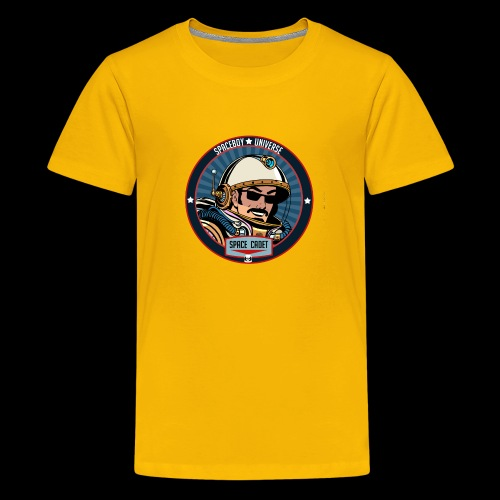 Spaceboy - Space Cadet Badge - Kids' Premium T-Shirt