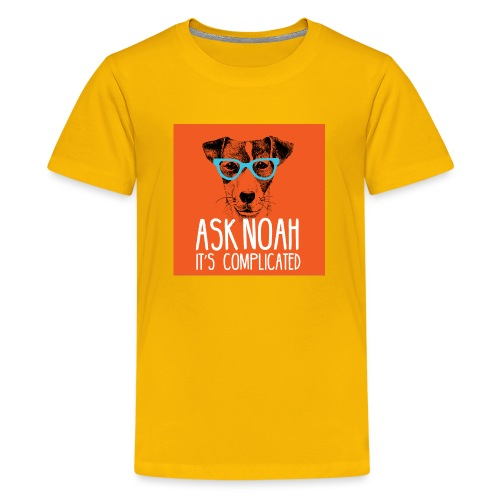 Ask Noah Christian Funk - Kids' Premium T-Shirt