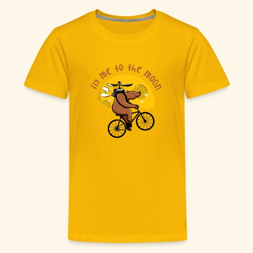 Fly me to the Moon - Kids' Premium T-Shirt