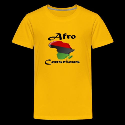 afro-conscious blk - Kids' Premium T-Shirt
