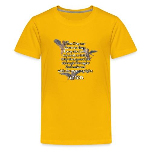 Bedtime prayer for Children - Kids' Premium T-Shirt