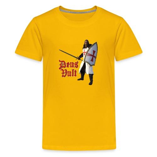 Crusader Deux Vult - Kids' Premium T-Shirt