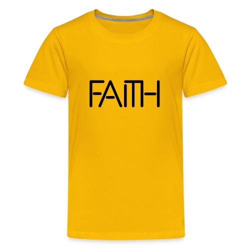 Faith tshirt - Kids' Premium T-Shirt