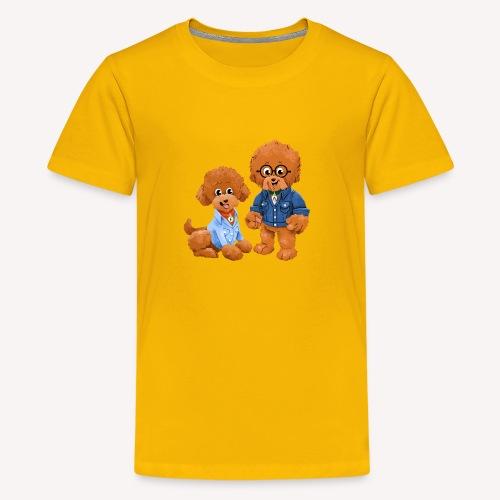 Agador and Fred - Kids' Premium T-Shirt