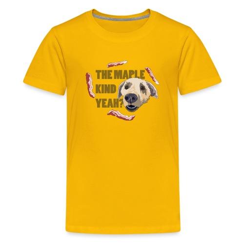 dogmaple3 - Kids' Premium T-Shirt