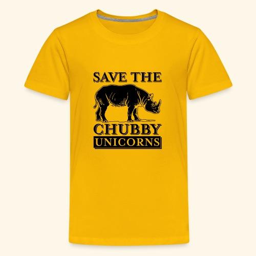 Chubby Unicorns - Kids' Premium T-Shirt