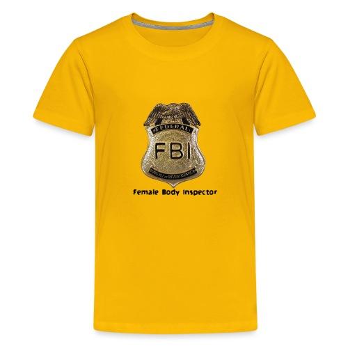 FBI Acronym - Kids' Premium T-Shirt