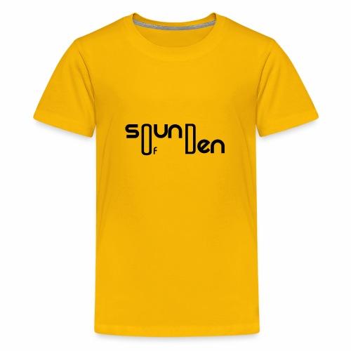 Soundofden Classical Black Logo - Kids' Premium T-Shirt
