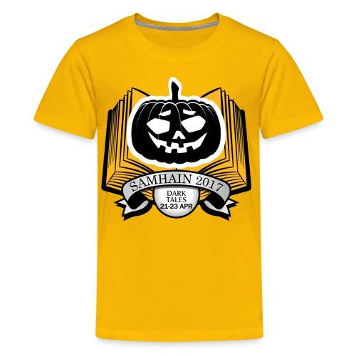 Samhain 2017 Logo shirt - Kids' Premium T-Shirt