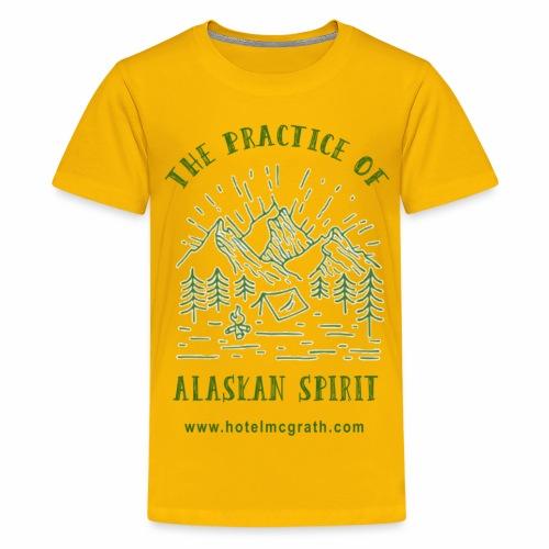 Alaskan Spirit green - Kids' Premium T-Shirt