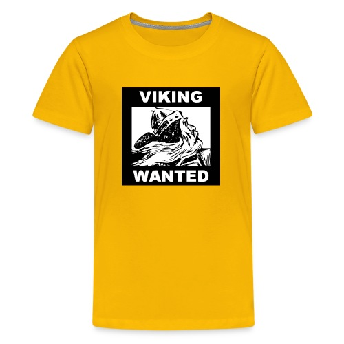 VIKING WANTED - Kids' Premium T-Shirt