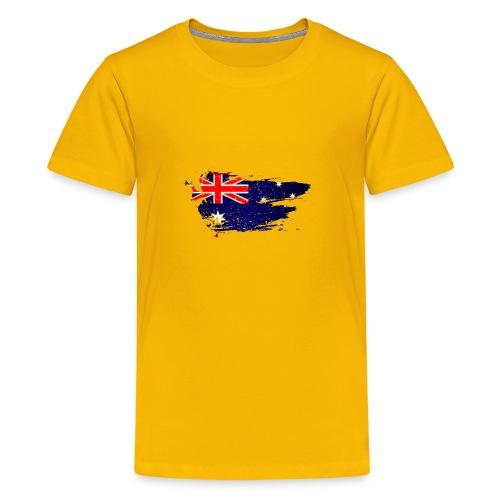 Australian Flag - Kids' Premium T-Shirt