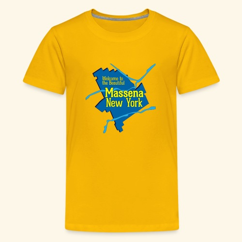 Massena NY Blue - Kids' Premium T-Shirt