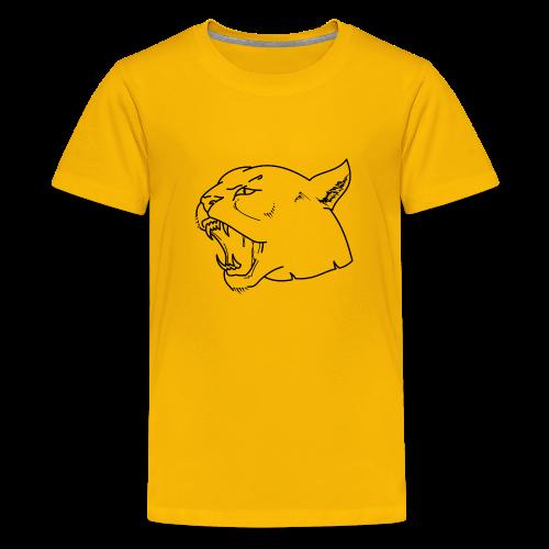Panther head - Kids' Premium T-Shirt