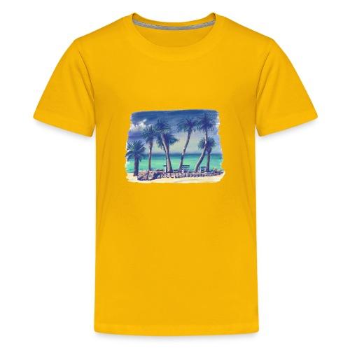 Oasis beach - Kids' Premium T-Shirt